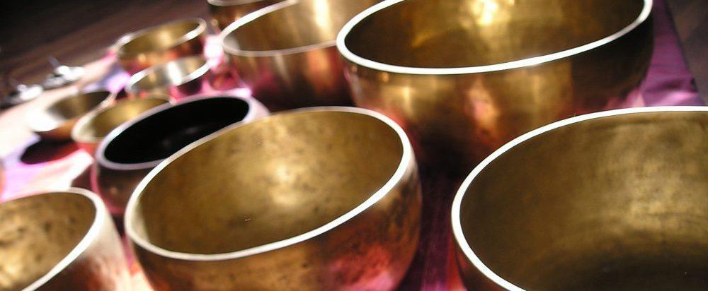 Klangschalen gold